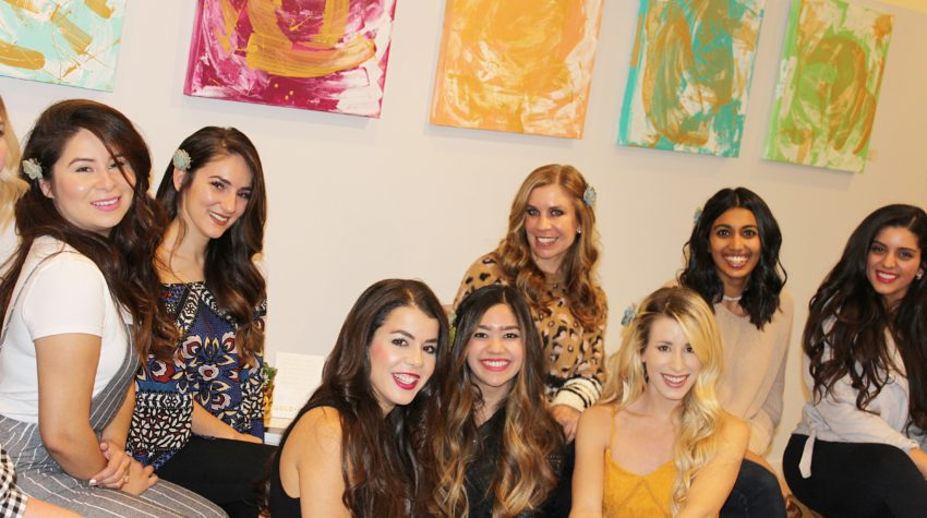 Bloggers and Blowouts with Gold and Braid