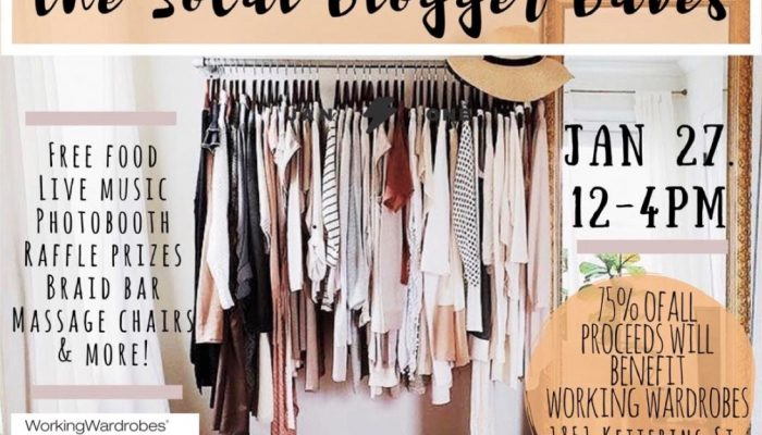 Blogger Closet Cleanout with Working Wardrobes