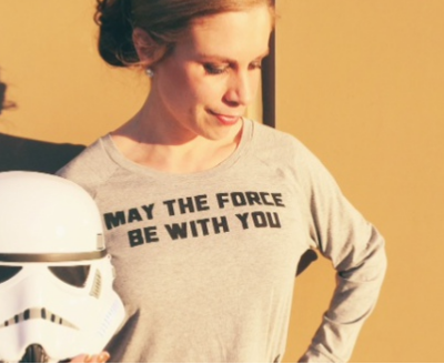 May Fashion and The Force Be With You!