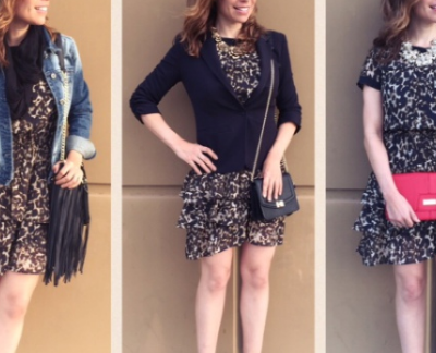 One Dress, Three Looks