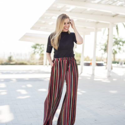 The Velvet Holiday Statement Pant